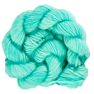 Madelinetosh Unicorn Tails yarn Button Jar Blue