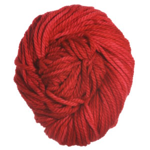 Malabrigo Chunky yarn 024 Vermillion