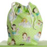 JBW Hand Made Project Bags - Glamour Girls - Spring Green