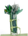 Westminister Fabrics May Birthstone Bouquet- Emerald