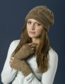 Woodlands Hat and Wristwarmers