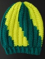 Hat Trix Zig Zag Crocheted Hat