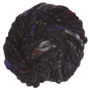 Knit Collage Cast Away yarn Blackberry Sparkle