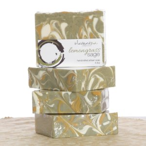 Black Rock Mud Soap - Lemongrass Sage