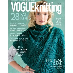 Vogue Knitting Fall 2015 magazine