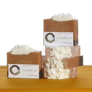 Black Rock Mud Pumpkin Pie soap