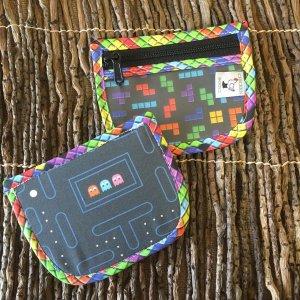 Pacman/Tetris Notions Pouch