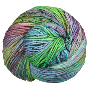 Madelinetosh Tosh DK yarn Electric Rainbow (Discontinued)