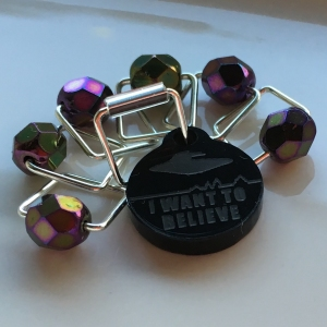 Spark Stitch Markers - X-Philes