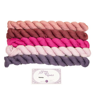 Lorna's Laces String Quintet Packs yarn Marimba