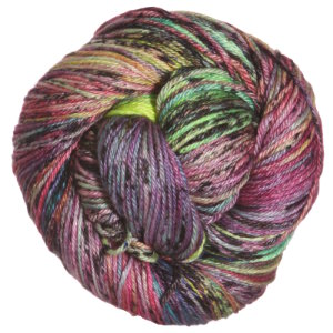 Madelinetosh Silk/Merino yarn Electric Rainbow