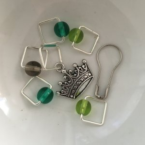 Spark Stitch Markers - Queen of Thorns