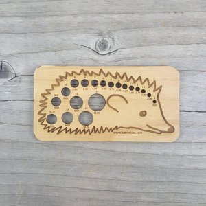 Katrinkles Animal Needle Gauge Hedgehog