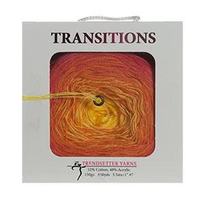 Trendsetter Transitions yarn 19 Sunrise-Red/Orange/Yellow