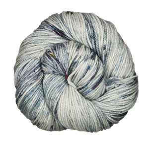 Madelinetosh Silk/Merino yarn Soot