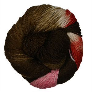 Delicious Yarns Two Sweets Fingering yarn Chocolate Mix 4