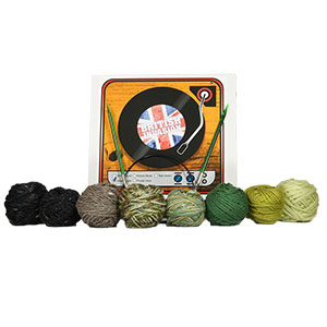 Jimmy Beans Wool British Invasion kits Green Apple