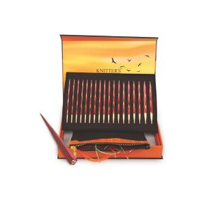 Knitter's Pride The Golden Light Interchangeable Needle Set needles Deluxe Set