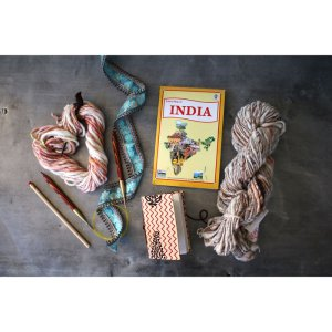 Jimmy Beans Wool Passport to India kits Oak