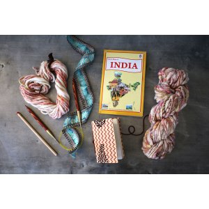 Jimmy Beans Wool Passport to India kits Wildflower