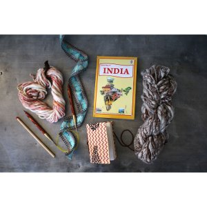 Jimmy Beans Wool Passport to India kits Truffle