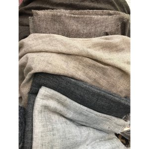 Fine Wool Shawl - Light Grey (Pre-Order)