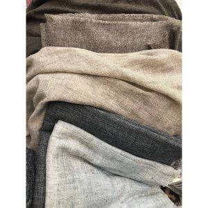 Fine Wool Shawl - Light Grey (Pre-Order)