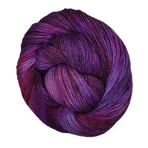 MJ Yarns Simple Sock yarn Purple Dragon