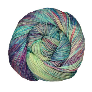 MJ Yarns Opulent Fingering yarn Fruit Juice
