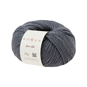Rowan Selects Fine Silk yarn 0103 - Blue Grey