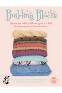 Skacel Michelle Hunter Pattern Books Building Blocks - Improve Your Knitting Skills One Square at a Time!