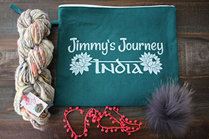 Knit Collage Cast Away Hat Kits kits Amulet/Grey