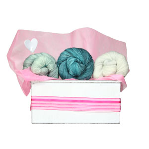 Jimmy Beans Wool Madelinetosh Yarn Bouquets kits Free Your Fade Bouquet - Celadon