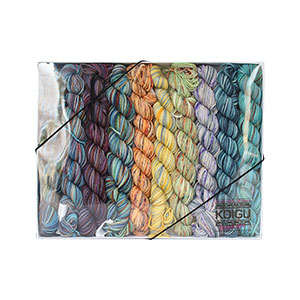 Koigu Pencil Pack yarn Midnight Garden #2