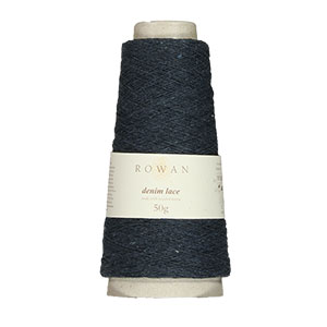 Rowan Selects Denim Lace yarn 08 Black