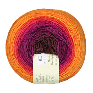 Freia Fine Handpaints Shawl Ball Fingering yarn Flare