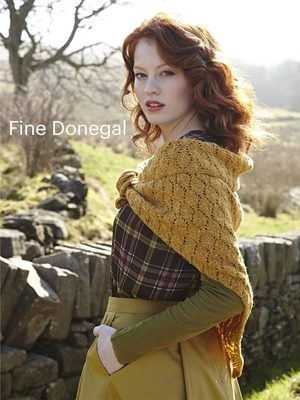 Debbie Bliss Fine Donegal Lacy Shawl