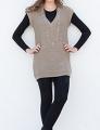 Zara Plus Twisted Rib Tunic