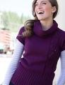 Zara Turtleneck Tunic Vest