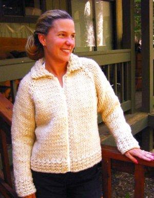 813a0de7ffe8c Knitting Pure and Simple Women s Cardigan Patterns - 0234 - Weekend  Neckdown Jacket Pattern