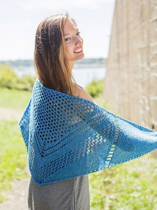 Berroco Linus Lake Volta Shawl Kit