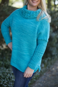 Katy Tunic in Lorna's Laces Cloudgate