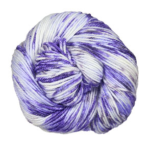 Lorna's Laces Sportmate yarn '18 April - Violeta Vivida