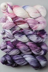 SweetGeorgia Tough Love Sock Joji Locatelli Fading Point Wrap kits Alibi Room (Ships Late May)