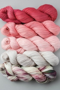SweetGeorgia Tough Love Sock Joji Locatelli Fading Point Wrap kits Palm Springs (Ships Late May)