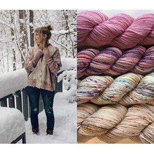 Koigu Color Kits kits Rose Cardigan (S/M)