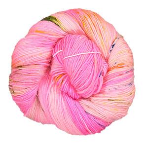 Madelinetosh Tosh Merino Light + Glitter yarn Voodoo