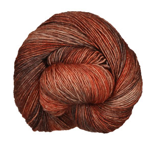 Madelinetosh Tosh Merino Light + Copper yarn Subtle Flame