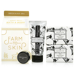 Beekman 1802 Goat Milk Hand Collection Carton Set Vanilla Absolute