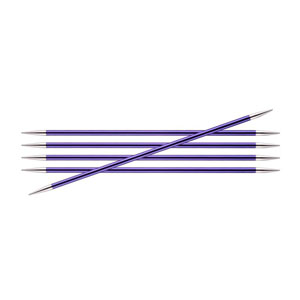 Knitters Pride 1.5//2.5mm Karbonz Double Pointed Needles 6